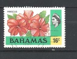 BAHAMAS     - 1976 Definitive Issue  HIBISCUS FLOWER             USED - Bahamas (1973-...)