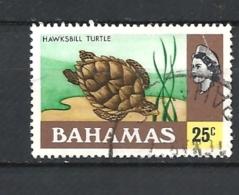 BAHAMAS     - 1976 Definitive Issue  HAWKSBILL TURTLE            USED - Bahamas (1973-...)