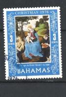 BAHAMAS     -  1976 Christmas        USED - Bahamas (1973-...)