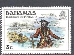 BAHAMAS     -  1980 History Of The Bahamas        USED - Bahamas (1973-...)