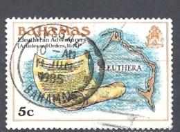 BAHAMAS     -  1980 History Of The Bahamas    ELEUTHERAN ADVENTURES     USED - Bahamas (1973-...)