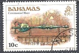 BAHAMAS     -  1980 History Of The Bahamas    CEREMONIAL MACE     USED - Bahamas (1973-...)