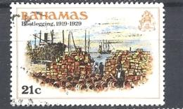 BAHAMAS     -  1980 History Of The Bahamas  BOOTLEGGING ,1919-1929    USED - Bahamas (1973-...)