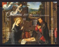 PENRHYN - 2015 - Noël 2015, La Nativité, Peintures De Gerard David  - BF Neufs // Mnh - Penrhyn