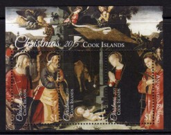 COOK - 2015 - Noël 2015, La Nativité, Peintures De Antoniazzo Romano  - BF Neufs // Mnh - Cook Islands