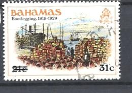 BAHAMAS     -  1983 Issue Of 1980 Surcharged   BOOTLEGGING ,1919-1929 USED - Bahamas (1973-...)