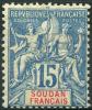 Soudan (1894) N 8  * (charniere) - Soudan (1894-1902)