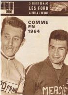 """Revue """" Miroir Sprint """" N° 1046 A Du 20 Juin 1966  - 53e Tour De France - Liste Des Courreurs,Anquetil, Poulidor ( Fr43) - Sport"""