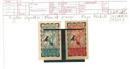 VIGNETTES EXPO PHILATELIQUE PARIS 1925