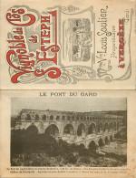 - Depts Div-ref LL140- Gard - Vergeze -feuillet Depliant Souple- Publicite Et Tarifs Vignoble De Saint Esteph -st Esteph - Vergèze