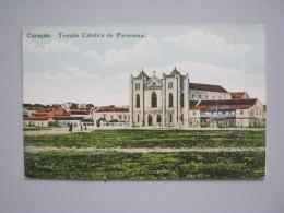 CARTOLINA CURACAO - TEMPLO CATOLICA DE PIETERMAAI - Curaçao