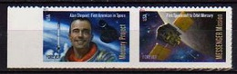 2011 - STATI UNITI / U.S.A. .- A. SHEPARD PRIMO AMERICANO NELLO SPAZIO / A. SHEPARD FIRST AMERICAN IN SPACE. MNH - United States