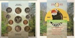FDC Setje  1993  Frans + Vlaams - 1951-1993: Baudouin I