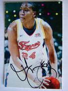 BASKET- Tamika CATCHINGS  - Dédicace - Hand Signed - Autographe Authentique  - - Basketball