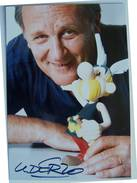 Photo - UDERZO - Dédicace - Hand Signed - Autographe Authentique  - - Gehandtekende Foto's