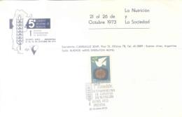 QUINTO CONGRESO ARGENTINO DE NUTRICION  Y PRIMERA REUNION INTERAMERICANA DE NUTRICION 21-26 OCTUBRE 1972  SHERATON HOTEL