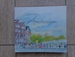 Schetsboek Amsterdam Door Hinke Wiggers En Graham Byfield , 96 Blz., Terra Lannoo, 2008 - Livres, BD, Revues