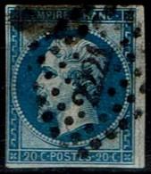 Frankreich France 1853 - Napoléon III - MiNr 13 - 1853-1860 Napoléon III