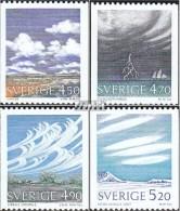 Schweden 1633-1636 (kompl.Ausg.) Postfrisch 1990 Wolken Und Wetter - Sweden