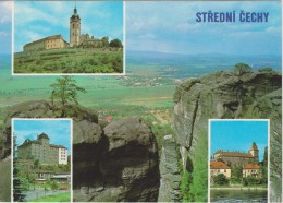AKCZ Czech Republic Card About Stredni Cechy - Castle - Mlada Boleslav - Tsjechië