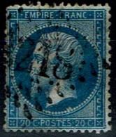 Frankreich France 1862 - Napoléon III - MiNr 21 - 1862 Napoleon III