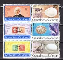 Grenadines Of St Vincent 1979,6V,birds,vogels,vögel,oiseaux,pajaros,uccelli,aves,MNH/Postfris(L2704) - Vogels