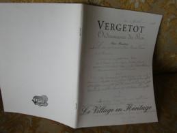 VERGETOT (SEINE-MARITIME) , Le VILLAGE En HERITAGE , 2010 - Normandie