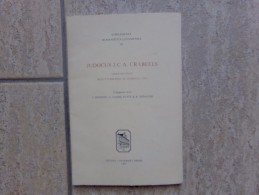 Judocus J.C.A. Crabeels Odae Iscanae, Schuttersfeest Te Overijse (1781), 76 Blz.,  1981 - Non Classés