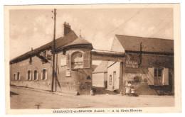 CPA Charmont En Beauce A La Croix Blanche  45 Loiret - Francia