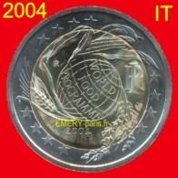 2 Euro ITALIE 2004 Pièce Commémorative De 2,oo Euro, Le 50e Anniversaire Du Programme Alimentaire Mondial. (Rome Est Le - Italie