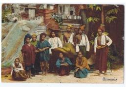 MYANMAR - BURMA - TYPES  KAREN - ITALIAN EDITION - 1930s - Myanmar (Burma)