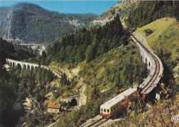 FRANCHE COMTE PITTORESQUE CH 125 BIS MOREZ JURA LES VIADUCS EDIT. DE L'EST - Trains
