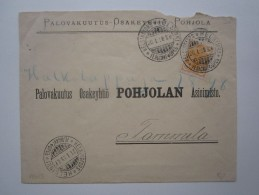 1898 RUSSIA FINLAND HELSINGFORS COVER - 1857-1916 Empire