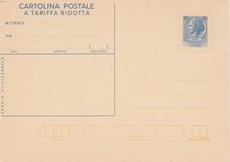 Cartolina Postale ( Italie ) Nieuw    60 Lire - 1946-.. République