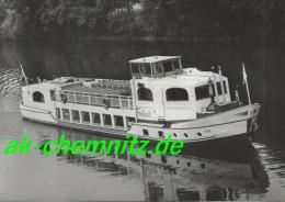 """Anhalt Dampfer Foto AK 06108 Halle / Saale 1965  MS """"Freiheit"""" - Halle (Saale)"""