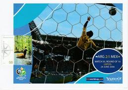 ALLEMAGNE 2006 - Coupe Monde Football - LEIPZIG 24 Juin ARGENTINE MEXIQUE