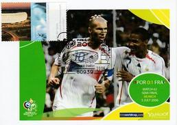 ALLEMAGNE 2006 - Coupe Monde Football - MUNCHEN 5 Juillet PORTUGAL FRANCE Zinedine ZIDANE