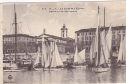 NICE , France , 00-10s ; Le Port Et L'Eglise , Bateaux De Plaisance - Non Classificati