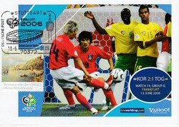 ALLEMAGNE 2006 - Coupe Monde Football - STUTTGART 13 Juin COREE TOGO