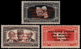 ~~~  Panama 1960 - Vluchtelingen - Mi. 565/567 ** MNH ~~~ - Panama