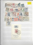 1954 USED Czechoslovakia Year Collection - Used Stamps