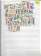 1956 USED Czechoslovakia Year Collection - Used Stamps