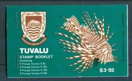 1979 Tuvalu Pesci Fishes Poissons Booklet Complete L89 - Tuvalu