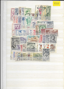 1958 USED Czechoslovakia Year Collection - Used Stamps