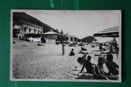 CARTOLINA SPIAGGIA DI VARIGOTTI -  AFFRANCATA AUGUSTO   -1939 - Other Cities