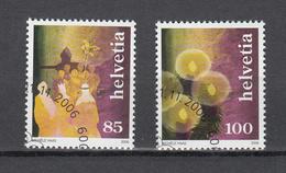 2006    N°  1215 - 1216  OBLITERES - Suisse