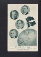 Lithuania Russia PPC North Pole Expedition Papanin Krenkel Feodorov Shirshov 1939 - Lithuania