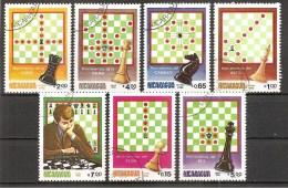 Nicaragua (25/20) Schach 1983 - Schaken