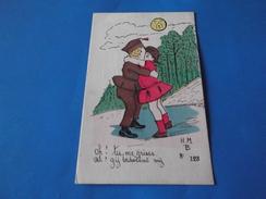 CP   Humoristique    OH! TU ME GRISES.    AH! Gij Bedwelmt  My       N° 123    H.m.  B - Illustrators & Photographers