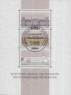 West-Duitsland - Bedeutende Gebäude Der Geschichte Der Bundesrepublik Deutschland - Used - M Blok 20 - [7] West-Duitsland